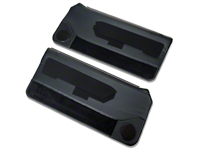 OPR Black Door Panels w/ Power Windows & Carpeting - Coupe, Hatchback (87-93 All)