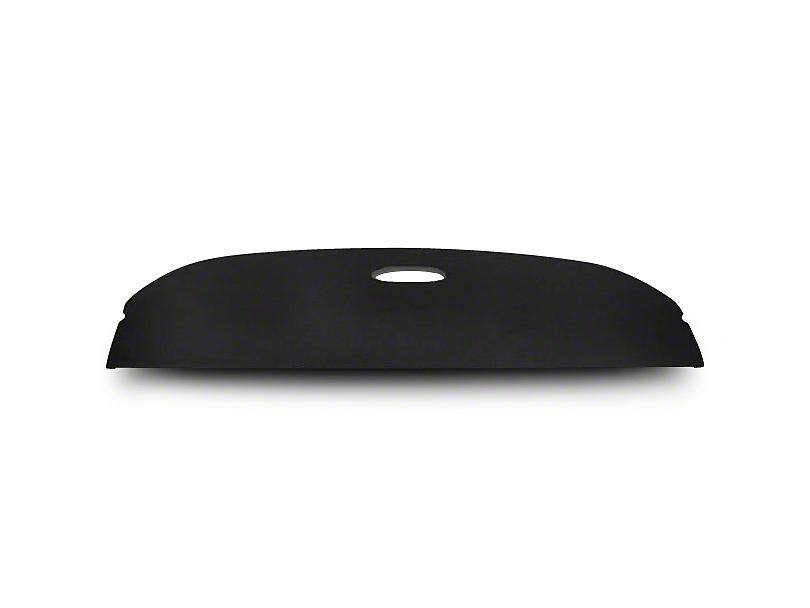 Black Package Tray w/ Speaker Cutouts - Coupe (79-93 All)