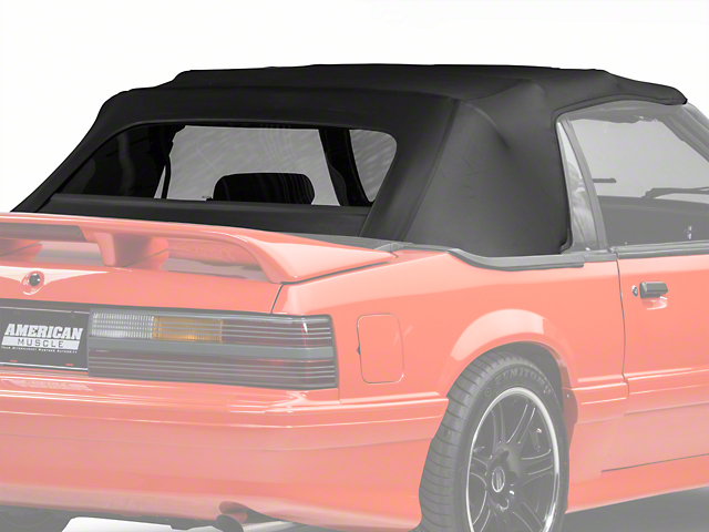 Replacement Convertible Top - Black (91-93 All)