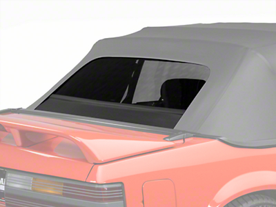OPR Replacement Convertible Rear Window Glass - Black (83-93 All)