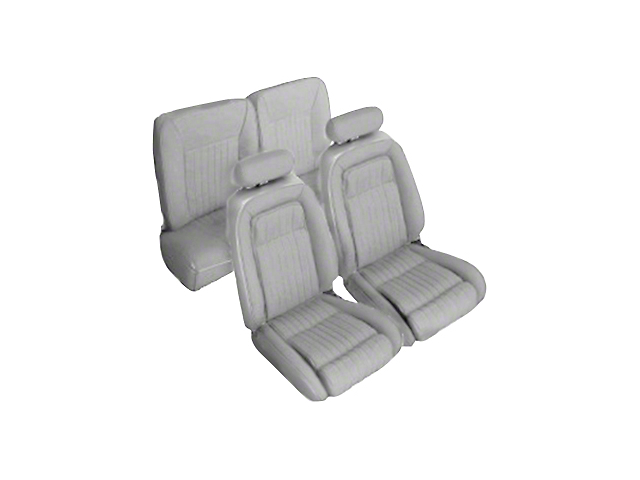 OPR Titanium Gray Front & Rear Sport Seat Upholstery - Hatchback (92-93 All)