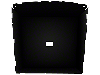 ABS Headliner - Coupe - Black (85-93 All)