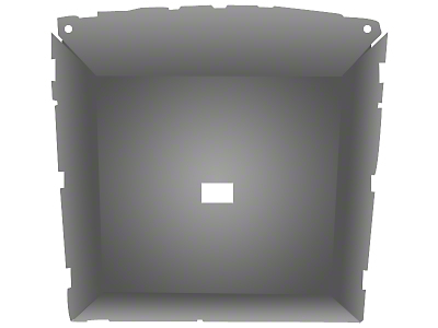 ABS Headliner - Coupe - Titanium Gray (85-93 All)