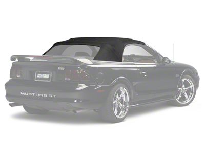 Add Replacement Convertible Top - Black