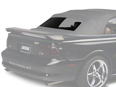 Replacement Convertible Tinted Rear Window Glass - Black (94-04 All)
