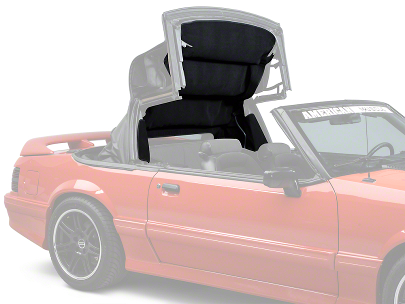 Headliner - Convertible - Black (83-93 All)