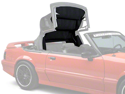 Replacement Convertible Top Headliner - Black (83-93 All)