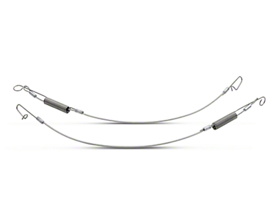 Convertible Top Rear Flap Cables (94-04 All)