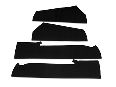 Convertible Top Pads (83-90 All)