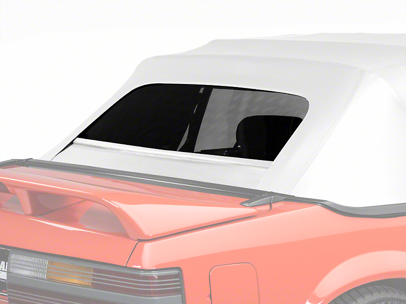 Replacement Convertible Rear Window Glass - White (83-93 All)