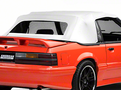 Replacement Convertible Top - White (91-93 All)