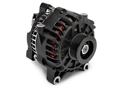 PAPerformance Alternator - 130 Amp Flat Black (05-08 GT)