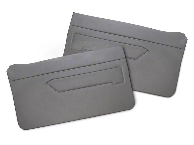 Replacement Door Panel Covers - Smoke Gray (87-89 All)