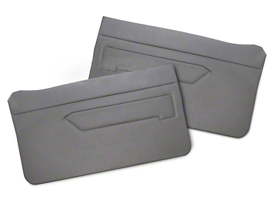 Replacement Door Panel Covers - Smoke Gray (83-93 All)