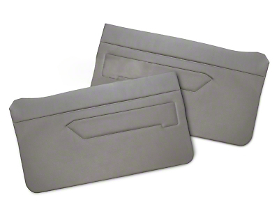 Replacement Door Panel Covers - Titanium Gray (83-93 All)