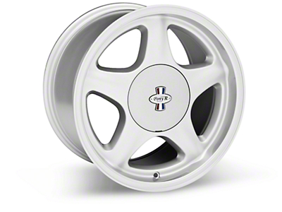 Argent Silver Pony R Wheel - 17x10 (87-93; Excludes 93 Cobra)