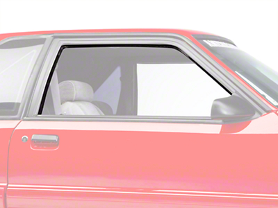 Window Run Channel Kit - Coupe/Hatchback (83-93 All)