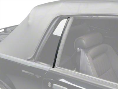 Quarter Window Vertical Weatherstrip Kit - Convertible (83-93 All)