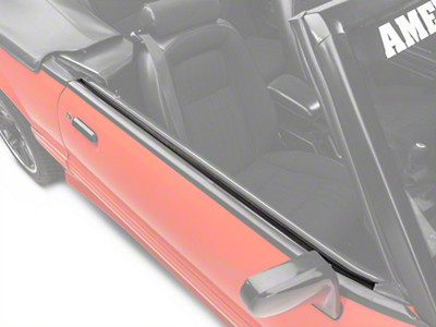 Outer Door Belt Weatherstrip Kit - Convertible (87-93 All)