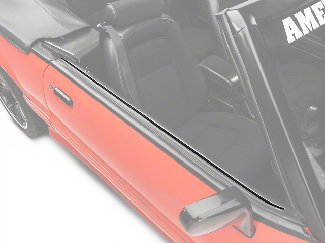 Inner Door Belt Weatherstrip Kit - Convertible (88-93 All)