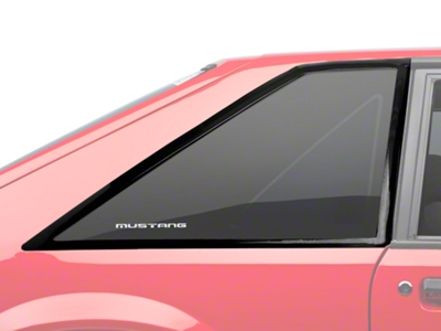 Quarter Window Molding Cover Kit - Hatchback (87-93 All)