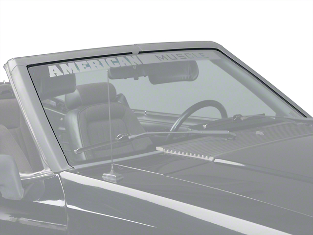 OPR Windshield Seal Weatherstripping Kit - Convertible (89-93 All)