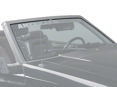 Windshield Seal Weatherstripping Kit - Convertible (89-93 All)