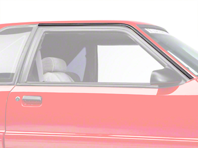 OPR Roof Rail Molding Kit - Coupe/Hatchback (87-93 All)