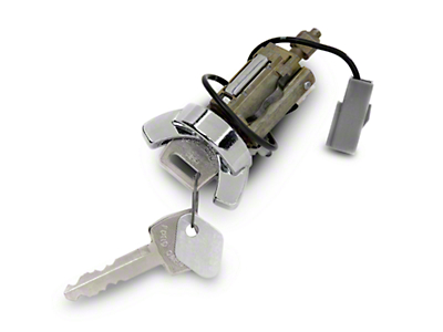 Ignition Lock Cylinder - Chrome (79-86 All)