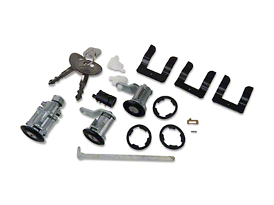 Lock Set - Black (87-93 All)