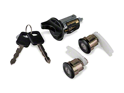 Ignition and Door Lock Set - Black (94-95 All)
