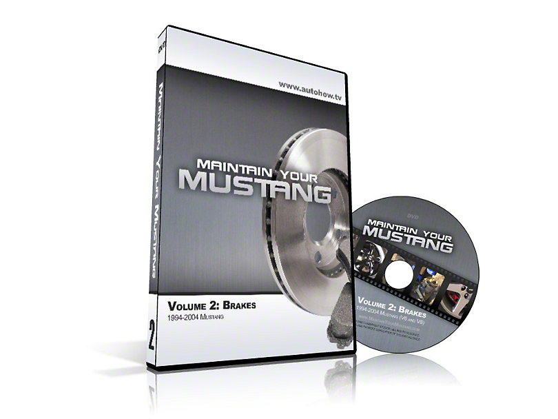 AutoHow.TV - Maintain Your Mustang Volume 2: Brakes (94-04 All)