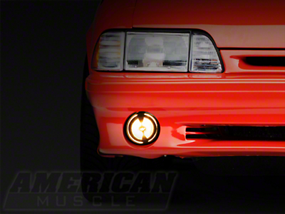 Ultra Clear Smoked Fog Light- LH/RH (87-93 GT)