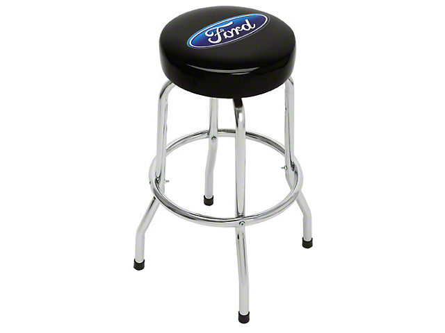 Ford Oval Standard Bar Stool Free Shipping