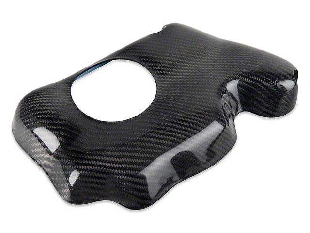Carbon Fiber Coolant Reservoir Cover (05-14 GT, V6)