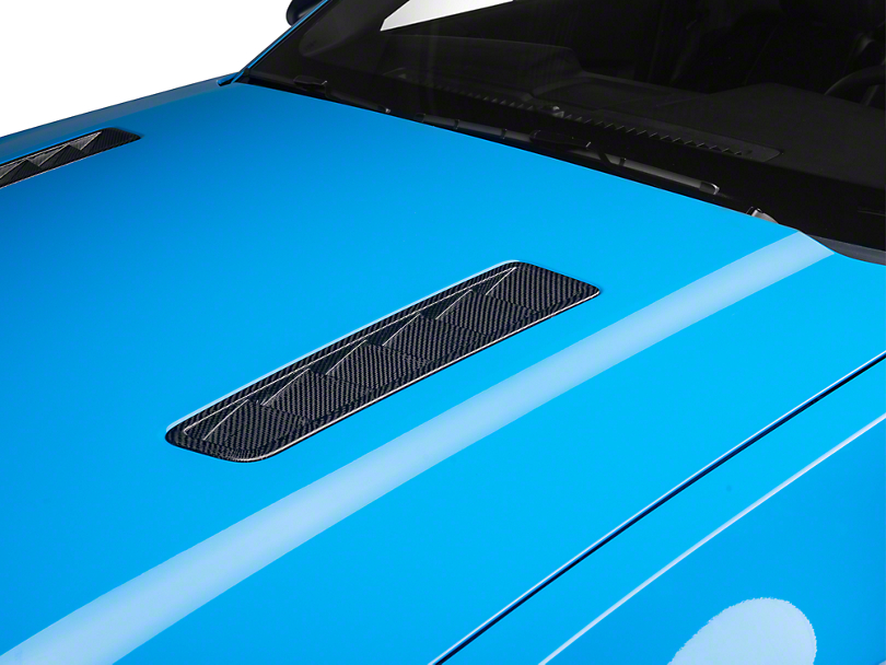 SpeedForm Carbon Fiber Hood Vents (13-14 GT)