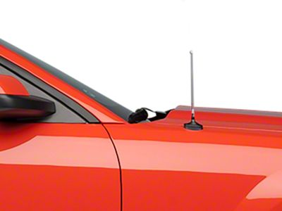 Add Fixed Chrome Antenna - 8 in.