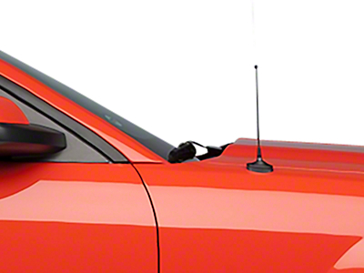 Fixed Black Antenna - 8 inch (05-09 All)