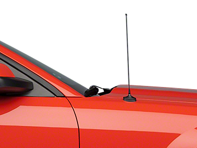 Modern Billet Fixed Black Antenna - 14 in. (05-09 All)