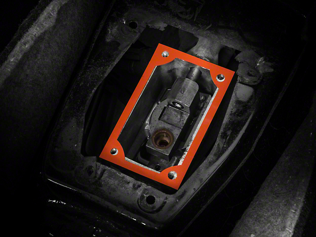 SR Performance Shifter Base & Handle Gasket - T5/T45 & TR3650 (82-04 V8; 93-01 Cobra; 94-04 V6)
