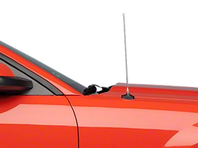 Fixed Chrome Antenna - 14 inch (05-09 All)
