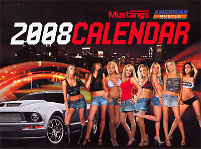 American Muscle Modified Mustang 2008 Calendar