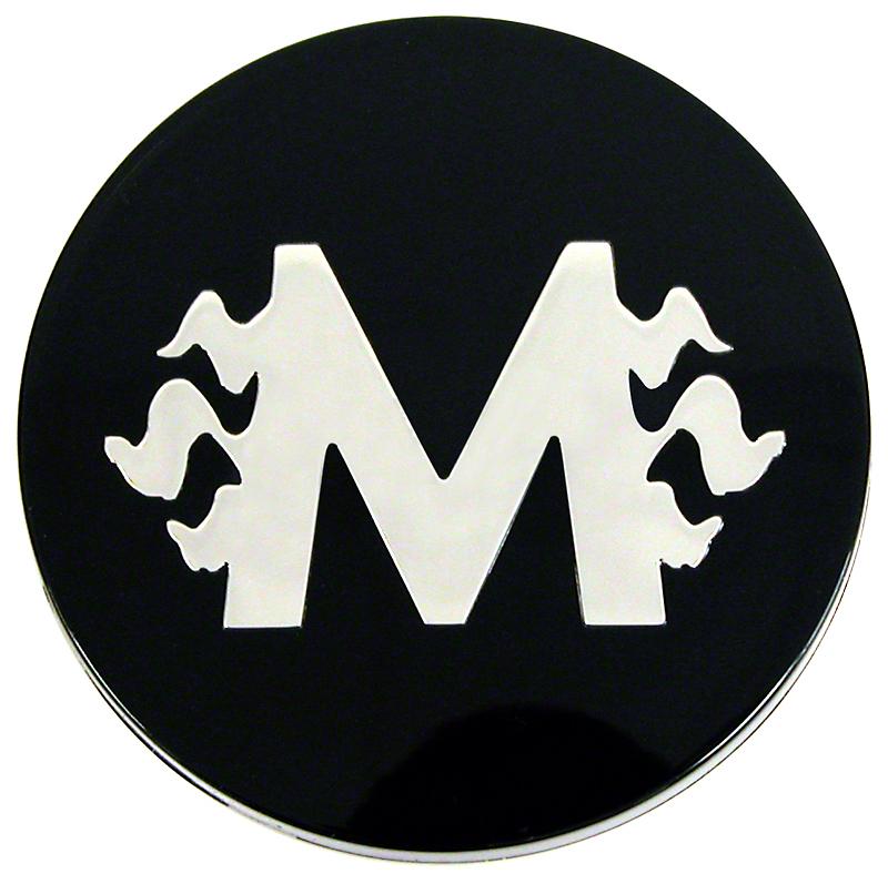 Black M-Fire Center Cap - Large