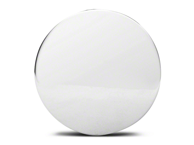 Chrome Aluminum Center Cap - Large