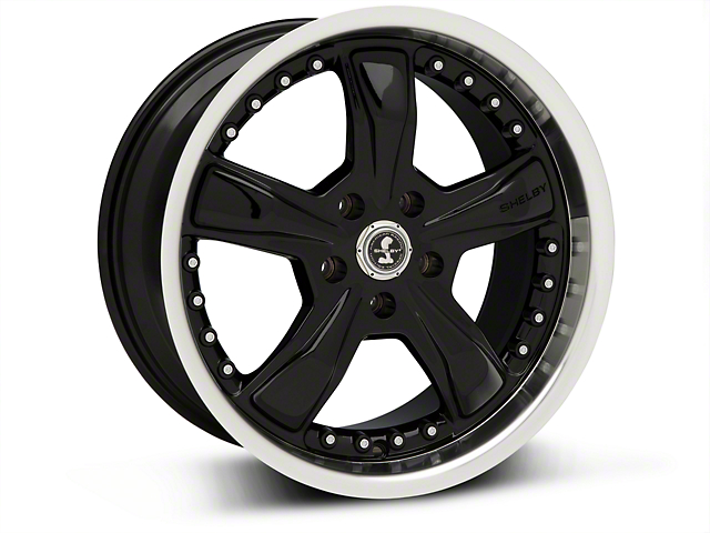 Shelby Razor Black Wheel - 18x9 (05-14 GT, V6)