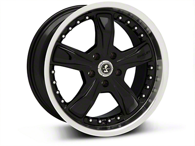 Black Shelby Razor Wheel - 18x9 (05-14 GT, V6)