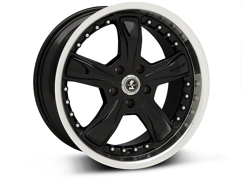 Shelby Razor Black Wheel - 18x9 (94-04 All)