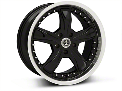 Shelby Razor Black Wheel - 18x9 (94-04 All)