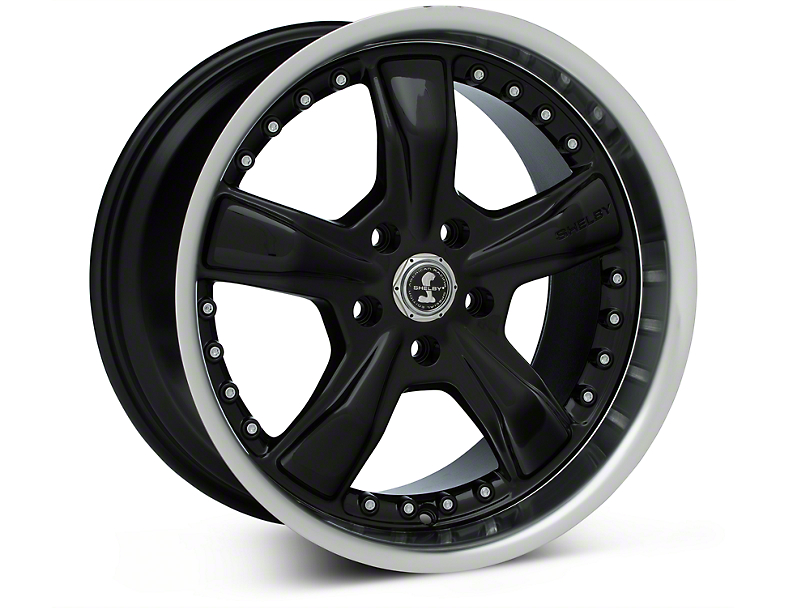 Shelby Razor Black Wheel - 18x10 (05-14 GT, V6)