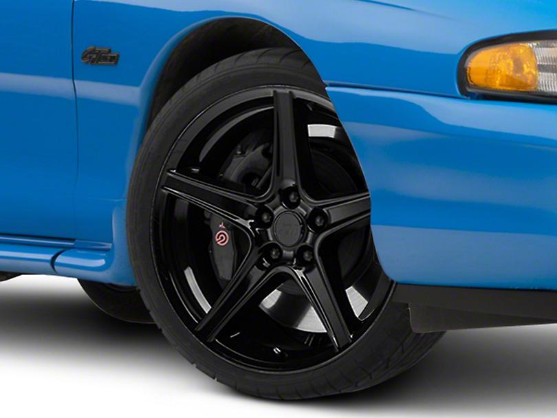 Saleen Style Black Wheel - 19x8.5 (94-04 All)